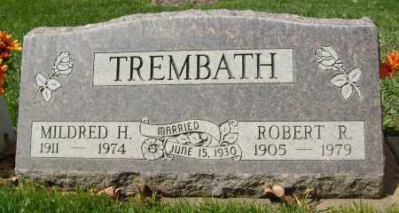 TREMBATH, MILDRED H. - Boulder County, Colorado   MILDRED H. TREMBATH - Colorado Gravestone Photos