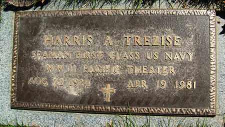 TREZISE, HARRIS A. - Boulder County, Colorado | HARRIS A. TREZISE - Colorado Gravestone Photos