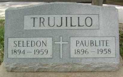 TRUJILLO, PAUBLITE - Boulder County, Colorado | PAUBLITE TRUJILLO - Colorado Gravestone Photos