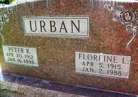 URBAN, FLOREINE L. - Boulder County, Colorado   FLOREINE L. URBAN - Colorado Gravestone Photos