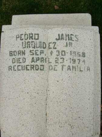 URQUIDEZ, PEDRO JAMES, JR. - Boulder County, Colorado | PEDRO JAMES, JR. URQUIDEZ - Colorado Gravestone Photos