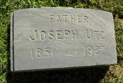 UTZ, JOSEPH - Boulder County, Colorado | JOSEPH UTZ - Colorado Gravestone Photos