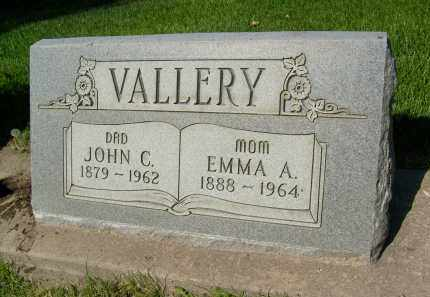 VALLERY, JOHN C. - Boulder County, Colorado | JOHN C. VALLERY - Colorado Gravestone Photos