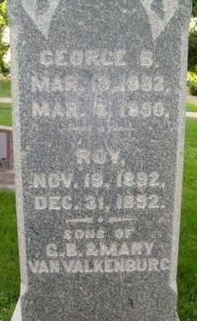 VAN VALKENBURG, GEORGE - Boulder County, Colorado | GEORGE VAN VALKENBURG - Colorado Gravestone Photos
