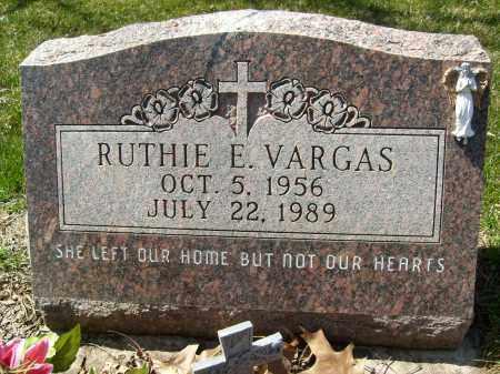 VARGAS, RUTHIE E. - Boulder County, Colorado | RUTHIE E. VARGAS - Colorado Gravestone Photos
