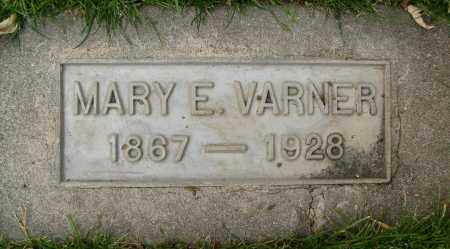 VARNER, MARY E. - Boulder County, Colorado | MARY E. VARNER - Colorado Gravestone Photos