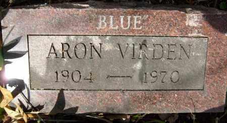 VIRDEN, ARON - Boulder County, Colorado | ARON VIRDEN - Colorado Gravestone Photos