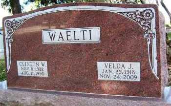 WAELTI, CLINTON W. - Boulder County, Colorado | CLINTON W. WAELTI - Colorado Gravestone Photos