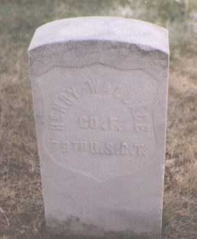 WALLACE, HENRY - Boulder County, Colorado | HENRY WALLACE - Colorado Gravestone Photos