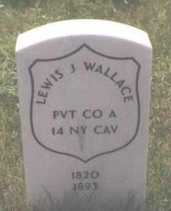 WALLACE, LEWIS J. - Boulder County, Colorado   LEWIS J. WALLACE - Colorado Gravestone Photos