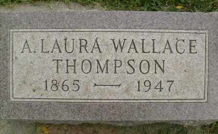 WALLACE THOMPSON, A. LAURA - Boulder County, Colorado   A. LAURA WALLACE THOMPSON - Colorado Gravestone Photos