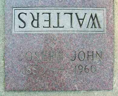 WALTERS, JOSEPH JOHN - Boulder County, Colorado   JOSEPH JOHN WALTERS - Colorado Gravestone Photos