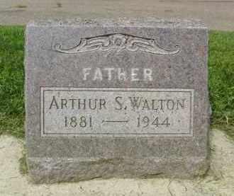 WALTON, ARTHUR S. - Boulder County, Colorado | ARTHUR S. WALTON - Colorado Gravestone Photos