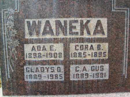 WANEKA, ADA E. - Boulder County, Colorado | ADA E. WANEKA - Colorado Gravestone Photos