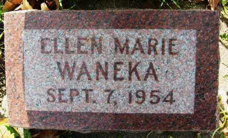 WANEKA, ELLEN MARIE - Boulder County, Colorado | ELLEN MARIE WANEKA - Colorado Gravestone Photos