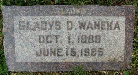 WANEKA, GLADYS O. - Boulder County, Colorado   GLADYS O. WANEKA - Colorado Gravestone Photos