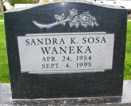 WANEKA, SANDRA K. - Boulder County, Colorado | SANDRA K. WANEKA - Colorado Gravestone Photos