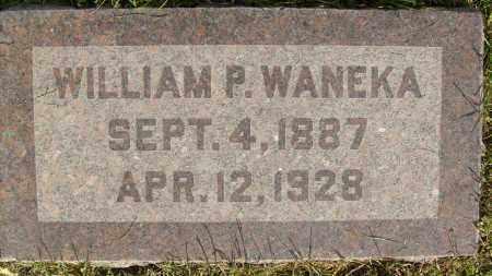WANEKA, WILLIAM P. - Boulder County, Colorado | WILLIAM P. WANEKA - Colorado Gravestone Photos
