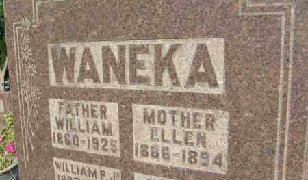 WANEKA, ELLEN - Boulder County, Colorado | ELLEN WANEKA - Colorado Gravestone Photos