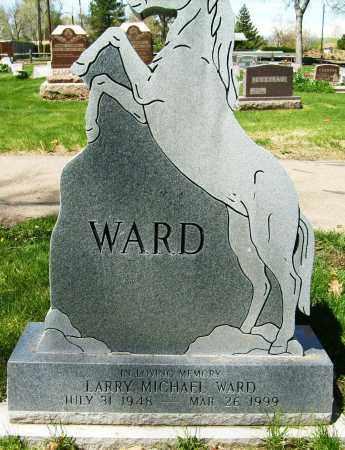 WARD, LARRY MICHAEL - Boulder County, Colorado   LARRY MICHAEL WARD - Colorado Gravestone Photos