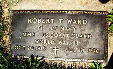 WARD, ROBERT T. - Boulder County, Colorado | ROBERT T. WARD - Colorado Gravestone Photos