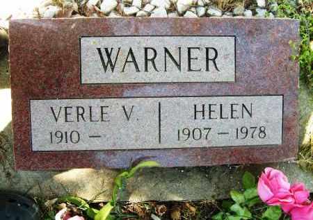 WARNER, VERLE V. - Boulder County, Colorado | VERLE V. WARNER - Colorado Gravestone Photos