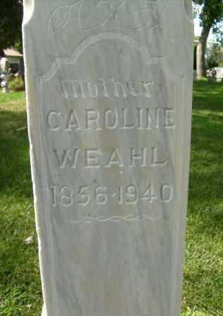 WEAHL, CAROLINE - Boulder County, Colorado | CAROLINE WEAHL - Colorado Gravestone Photos