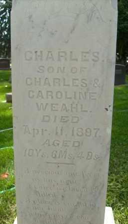 WEAHL, CHARLES - Boulder County, Colorado | CHARLES WEAHL - Colorado Gravestone Photos