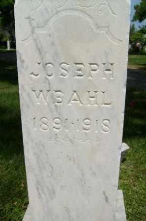 WEAHL, JOSEPH - Boulder County, Colorado   JOSEPH WEAHL - Colorado Gravestone Photos