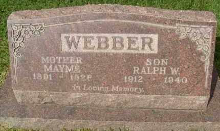 WEBBER, RALPH W. - Boulder County, Colorado | RALPH W. WEBBER - Colorado Gravestone Photos