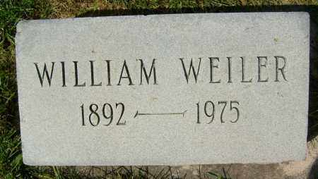 WEILER, WILLIAM - Boulder County, Colorado | WILLIAM WEILER - Colorado Gravestone Photos