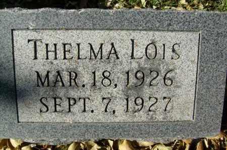 WENNBERG, THELMA LOIS - Boulder County, Colorado | THELMA LOIS WENNBERG - Colorado Gravestone Photos