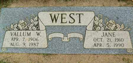 WEST, JANE - Boulder County, Colorado | JANE WEST - Colorado Gravestone Photos