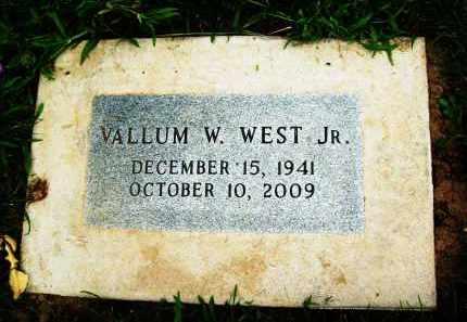 WEST, VALLUM W., JR. - Boulder County, Colorado   VALLUM W., JR. WEST - Colorado Gravestone Photos