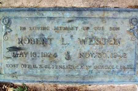 WESTON, ROBERT L. - Boulder County, Colorado | ROBERT L. WESTON - Colorado Gravestone Photos