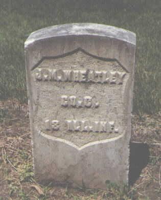 WHEATLEY, J. M. - Boulder County, Colorado | J. M. WHEATLEY - Colorado Gravestone Photos