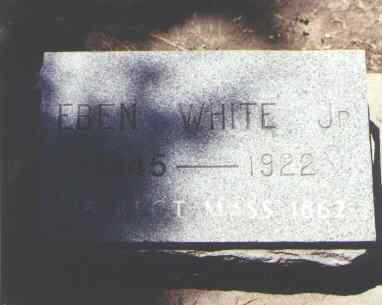 WHITE, EBEN JR. - Boulder County, Colorado | EBEN JR. WHITE - Colorado Gravestone Photos