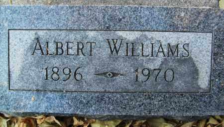 WILLIAMS, ALBERT - Boulder County, Colorado | ALBERT WILLIAMS - Colorado Gravestone Photos