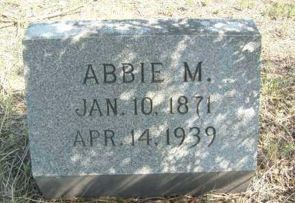 WILLIAMS, ABBIE M. - Boulder County, Colorado | ABBIE M. WILLIAMS - Colorado Gravestone Photos