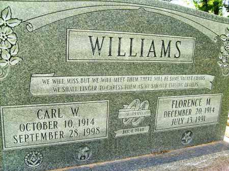WILLIAMS, FLORENCE M. - Boulder County, Colorado | FLORENCE M. WILLIAMS - Colorado Gravestone Photos