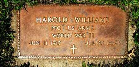 WILLIAMS, HAROLD - Boulder County, Colorado   HAROLD WILLIAMS - Colorado Gravestone Photos