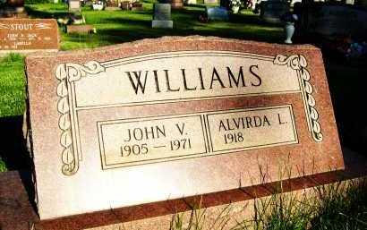 WILLIAMS, JOHN V. - Boulder County, Colorado | JOHN V. WILLIAMS - Colorado Gravestone Photos