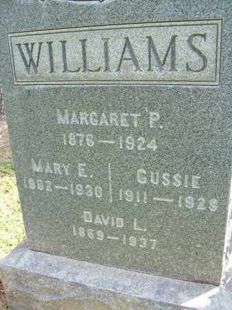 WILLIAMS, MARGARET P. - Boulder County, Colorado | MARGARET P. WILLIAMS - Colorado Gravestone Photos