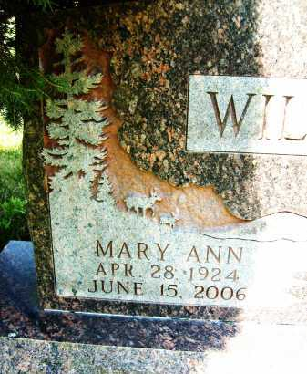 WILLIAMS, MARY ANN - Boulder County, Colorado | MARY ANN WILLIAMS - Colorado Gravestone Photos