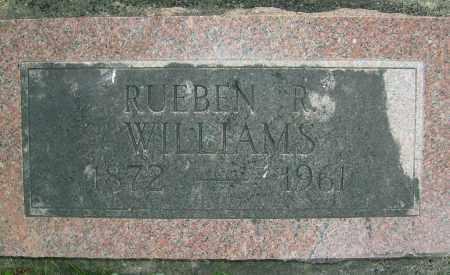 WILLIAMS, RUEBEN R. - Boulder County, Colorado | RUEBEN R. WILLIAMS - Colorado Gravestone Photos