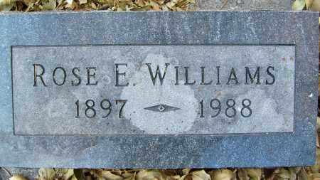 WILLIAMS, ROSE E. - Boulder County, Colorado   ROSE E. WILLIAMS - Colorado Gravestone Photos