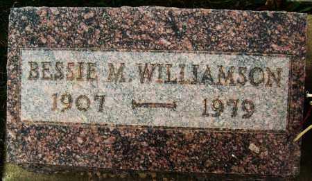 WILLIAMSON, BESSIE M. - Boulder County, Colorado   BESSIE M. WILLIAMSON - Colorado Gravestone Photos