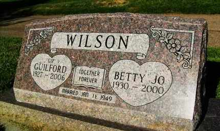 WILSON, BETTY JO - Boulder County, Colorado | BETTY JO WILSON - Colorado Gravestone Photos