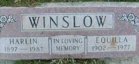 WINSLOW, EQUILLA - Boulder County, Colorado | EQUILLA WINSLOW - Colorado Gravestone Photos