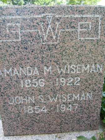 WISEMAN, JOHN S. - Boulder County, Colorado | JOHN S. WISEMAN - Colorado Gravestone Photos